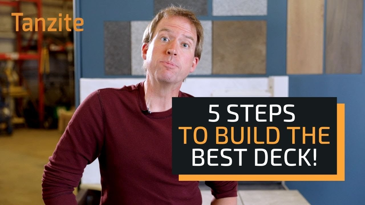 5 Basic Steps To Build a Stone Deck with Tanzite