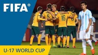 Gambar cover Highlights: Argentina v. Australia - FIFA U17 World Cup Chile 2015