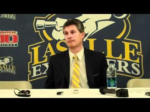 La Salle Postgame Press Conference vs. Richmond - ...