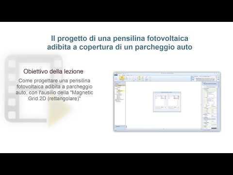 Tutorial Solarius-PV - Progettare una pensilina fotovoltaica adibita a parcheggio - ACCA software thumbnail