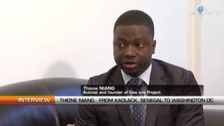 Interview with Thione Niang. Young Senegalese American Activist and Founder of Give One Project