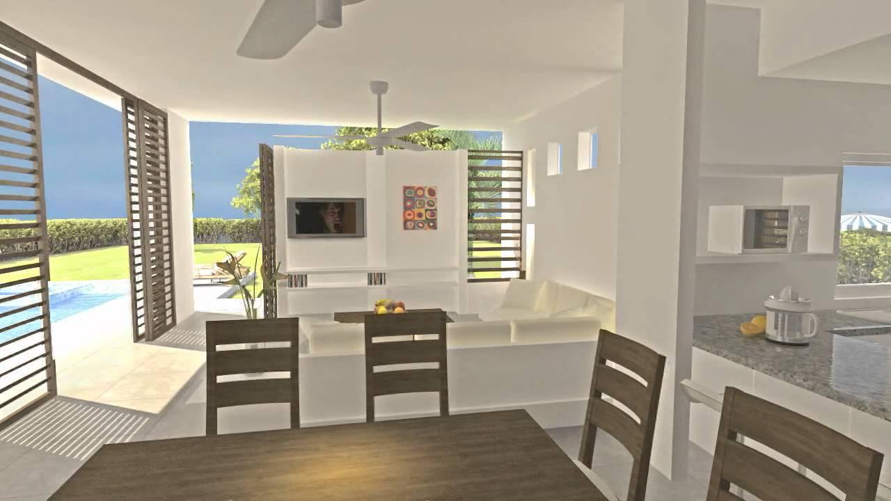 Casa de campo igua youtube for Disenos de casas campestres modernas