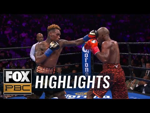 Tony Harrison takes down Jermell Charlo, breaks down unanimous decision | HIGHLIGHTS | PBC ON FOX