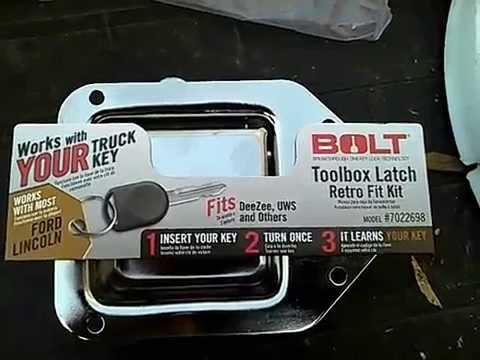 Bolt Toolbox Lock Youtube