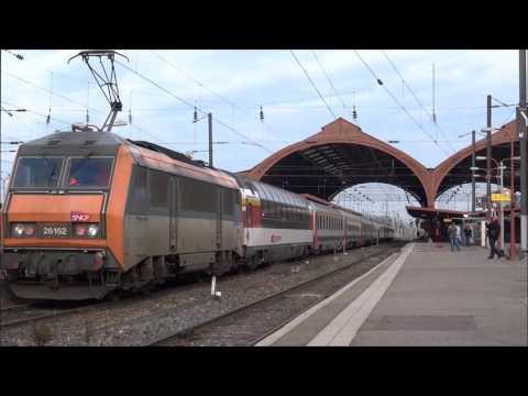 Adieu aux Eurocity Bruxelles-Bâle - 1987-2016  [HD]