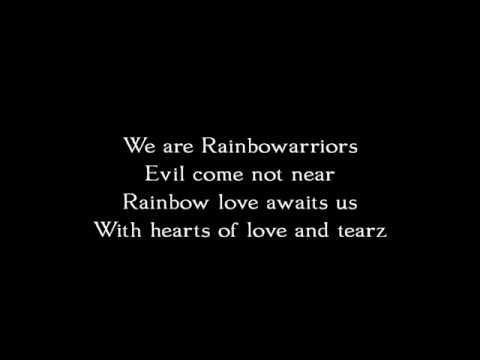CocoRosie  - Rainbowarriors (Lyrics)