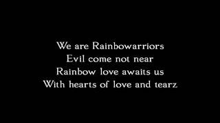 CocoRosie  - Rainbowarriors (Lyrics)