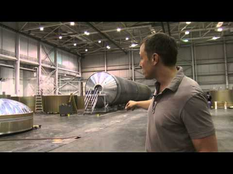 Elon's SpaceX Tour - Falcon 1, Falcon 9 and Dragon
