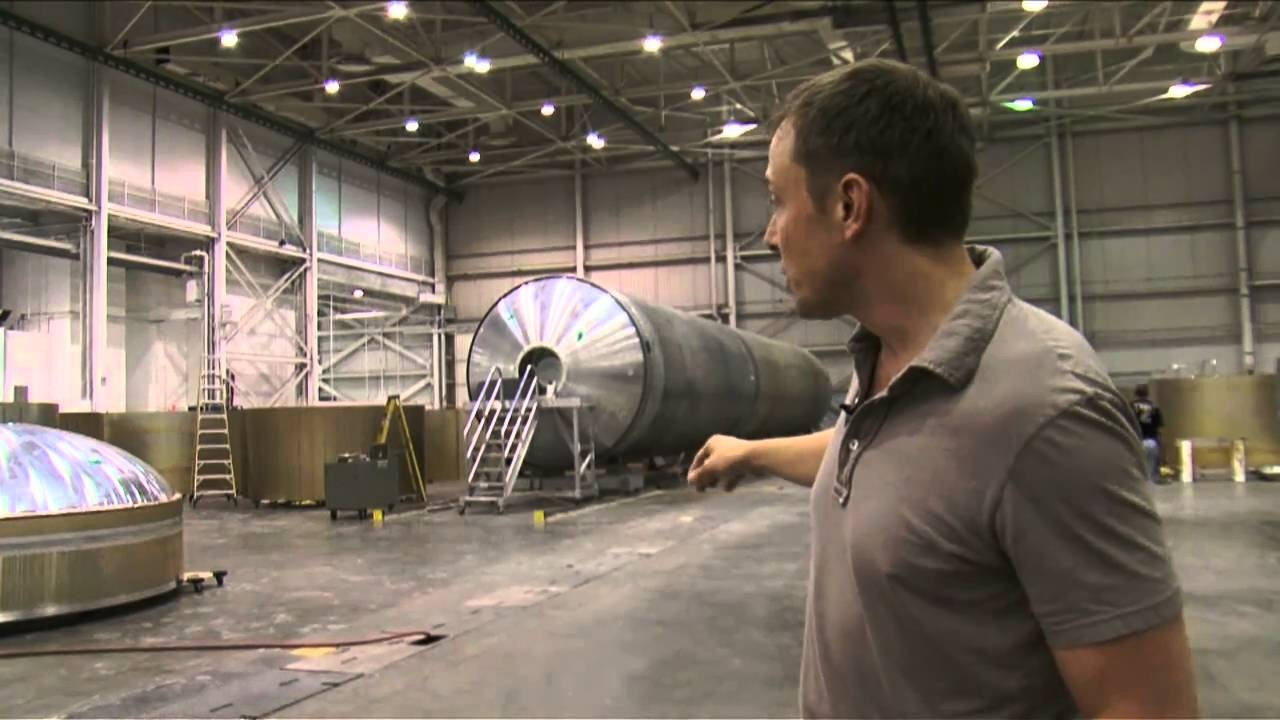 Elon S Spacex Tour Falcon 1 Falcon 9 And Dragon Youtube