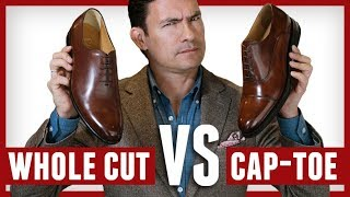 Whole-Cuts Vs Oxfords | Which Dress Shoe Is More Formal? Balmoral Oxford or Wholecuts