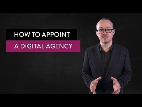 How to appoint a digital agency