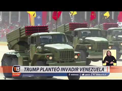 Revelan que Trump planeó invadir Venezuela