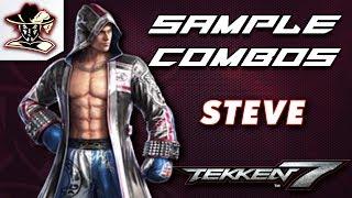 Tekken 7: Steve - Staple Combos