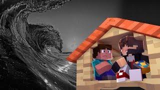 Minecraft: DESAFIO DA BASE 100% SEGURA CONTRA TSUNAMI DE VOID ‹JUAUM ›