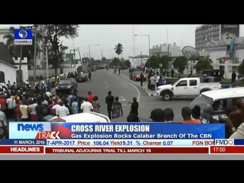 Gas Explosion Rocks Calabar Branch Of CBN