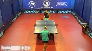 Настольный теннис матч 220918  6  Литвиненко Елена  Смирнова Анна