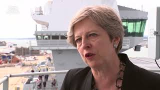 Theresa May: Leaders should always condemn far-right - BBC News