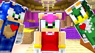 Minecraft Sonic The Hedgehog - Sonic Vs Amy's Ex-Boyfriend! [33]