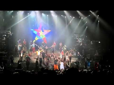 Jesus Christ Superstar 21.10.12. Final bows, final night at Sheffield Arena
