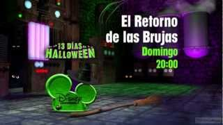 Disney Channel HD Spain Halloween Promos and Ident 2012