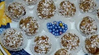 Очень вкусные и полезные домашние конфеты из сухофруктов ♥ candy ♥