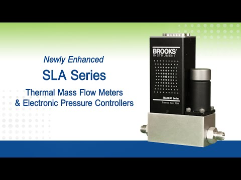 Brooks Instrument® SLA Series: Newly Enhanced Flow and Pressure Products