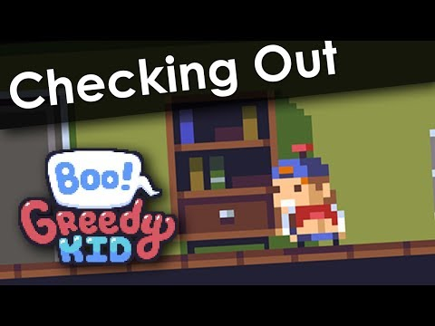 Checking Out • Boo! Greedy Kid on Steam |