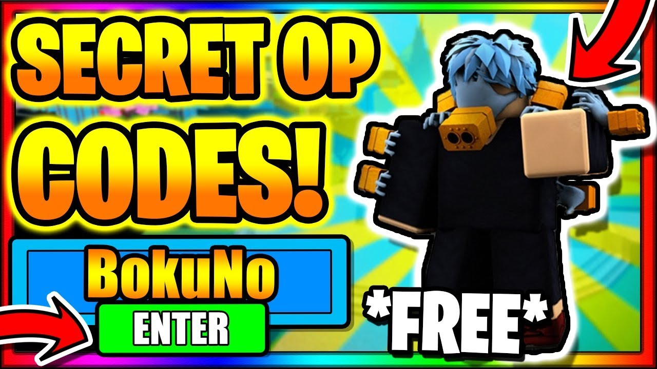 2020 All New Secret Op Working Codes Pvp Update Boku No Roblox Remastered Youtube