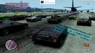 GTA EFLC - PC - Online Multiplayer - GTA Race x2/BUSTED!/Figure-8 DD @ BGF Event!