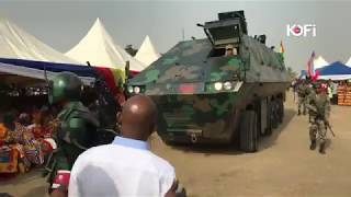 FULL VIDEO: APOSTLE KWADWO SARFO UNVEILS ANOTHER BIG MILITARY ARMORED CAR