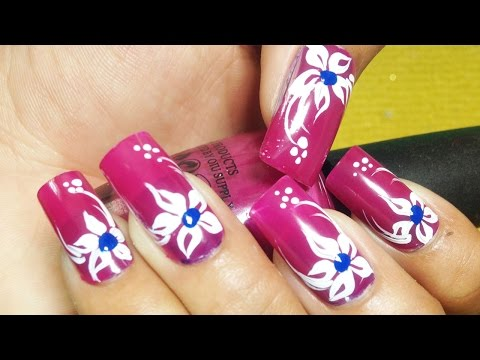 Nail Art Paint Ideas – Simple Cute Nails, flowers – Easy Ways Creative Nails – Chamroeun Part #43
