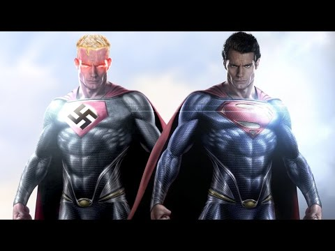 The story of the SUPERMAN comics