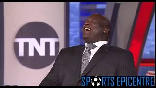Shaq Keeps Staring At Kenny Smith's New Hair & Is Mad Jealous! - Inside The NBA