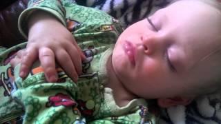 Snoring baby - 9 months 1 week old.
