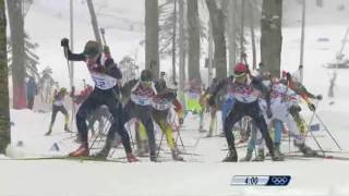 ZOH 2014 Sochi Biatlon závod z hromadným startem na 15km muži