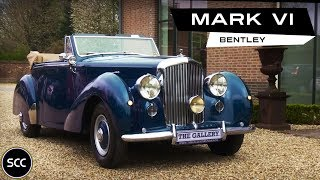 Bentley MK6 MARK VI - MARK 6 - DHC Drophead Coupe 1950 - Modest test drive - Engine sound