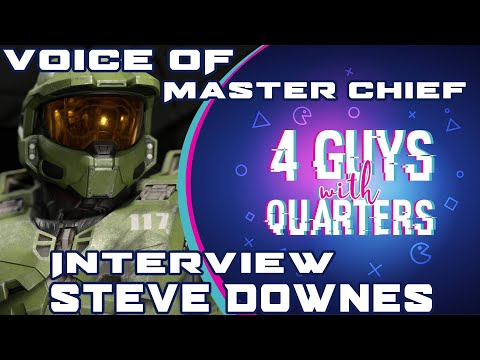 4GwQ Podcast Ep104 - Steve Downes, Voice of Master Chief