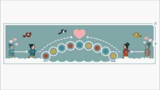 Chinese Valentine's Day - Qixi Festival - Chilseok - Google Doodle 2013 - 七夕 - 칠석