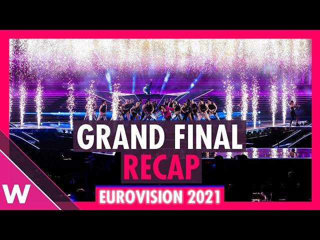 Eurovision 2021: Grand Final Recap as seen from the audience (All 26 songs)