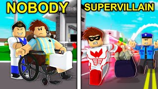 NOBODY To SUPERVILLAIN: The MOVIE (Roblox Brookhaven)