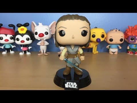 Funko Pop! Star Wars - Rey (The Last Jedi) Unboxing