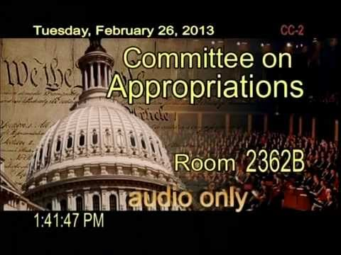 Hearing: Nuclear Nonproliferation and Naval Reactors FY 2013 Budget (EventID=100282)