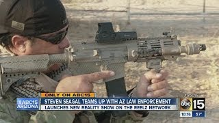 Repeat youtube video Steven Seagal teams up with Arizona law enforcement