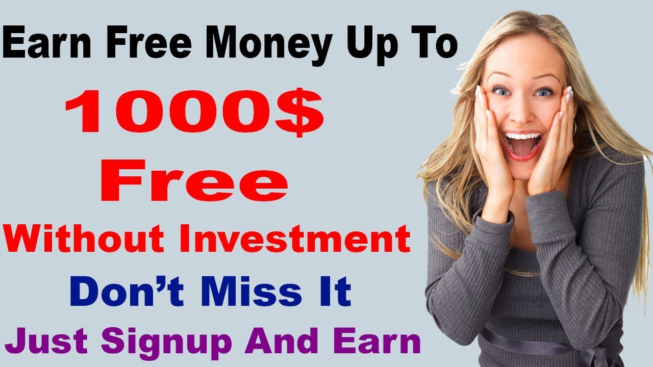 Earn up to 1000$ free without investment - Hanistudio