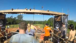 Tough Mudder Atlanta King of Swing