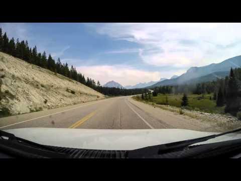 Kanada Drivelapse Tag 8 vom Whistler Campground via Jasper zum Honeymoon Lake Campground (Jasper NP)