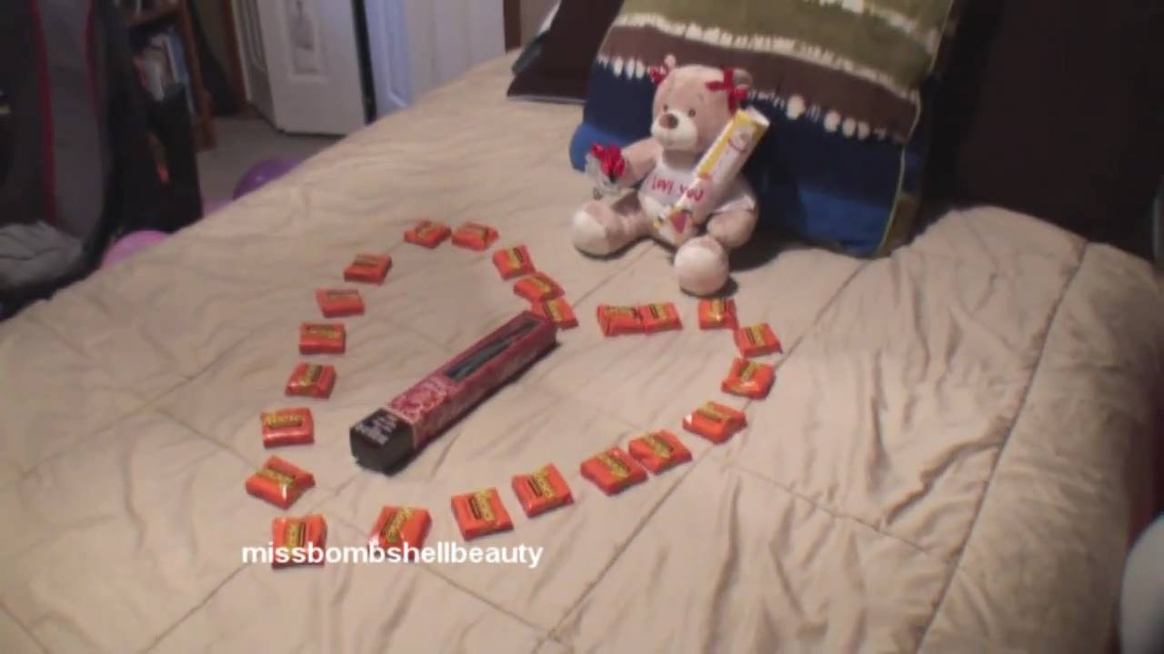 girlfriend valentines day surprise