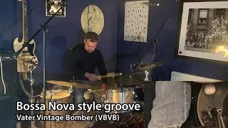 Vater bass drum beater demo: Hard Felt Beater vs. Vintage Bomber