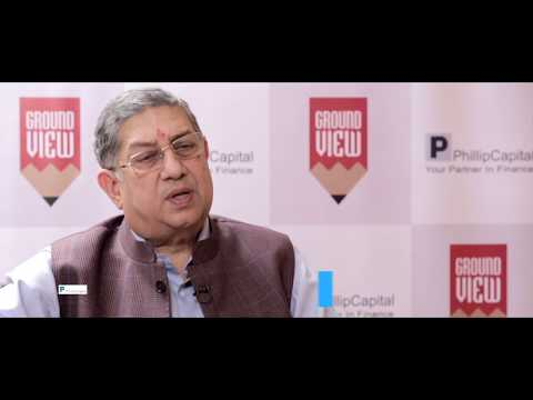 N Srinivasan on GST and Cement Industry - Full Interview - PhillipCapital India
