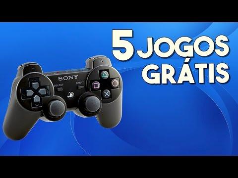 5 JOGOS GRÁTIS NO PS3